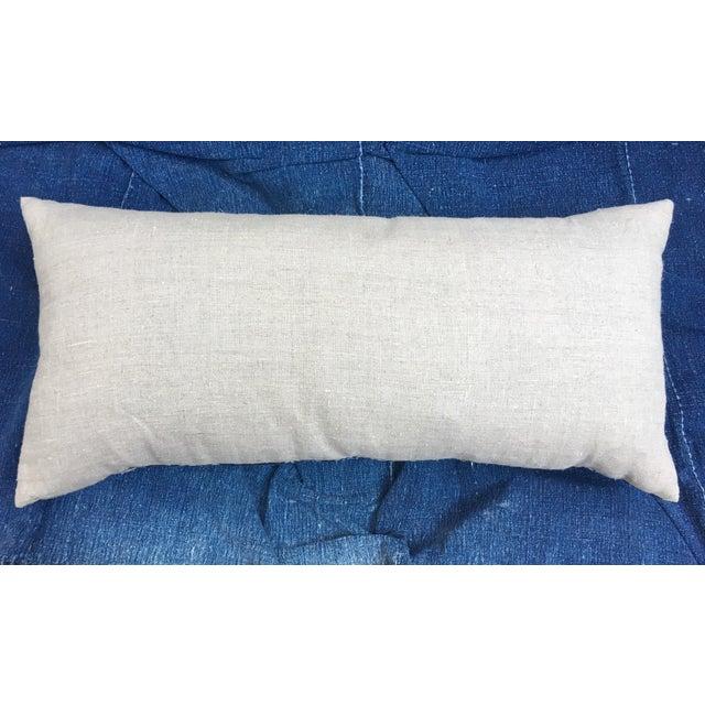 Antique Indigo Batik Pillow - Image 6 of 6