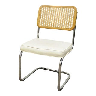 Italian Mid-Century Modern Cesca Breuer Cane Kitchen Dining Chair