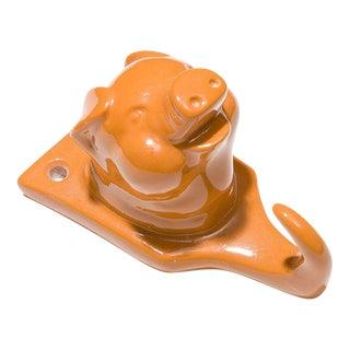Resin Pig Hook - Orange