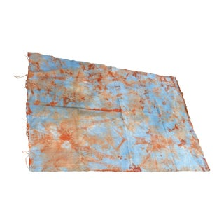 African Homespun Tie Dye Throw
