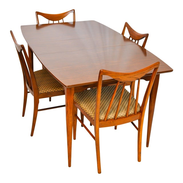 Keller Furniture Vintage Mid-Century Modern Danish Dining Table ...