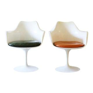 Eero Saarinen Tulip Chairs by Knoll - Pair
