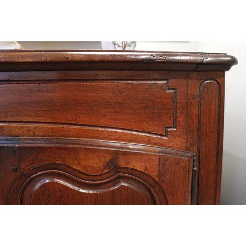 French Provençal Fruitwood Buffet With Carved and Pierced Skirt - Image 6 of 10