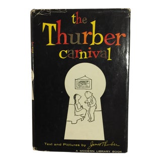 """The Thurber Carnival"" Modern Library Book"