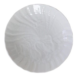 Meissen White Swan Plate