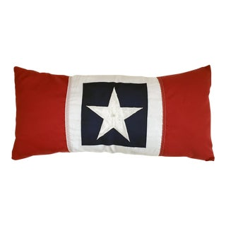 Nylon American Flag Pillow