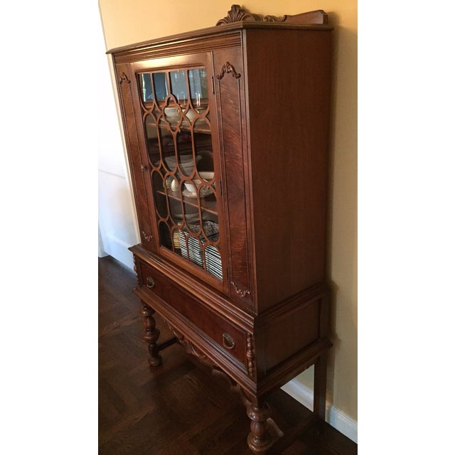 Traditional Solid Wood Hutch - Image 3 of 4