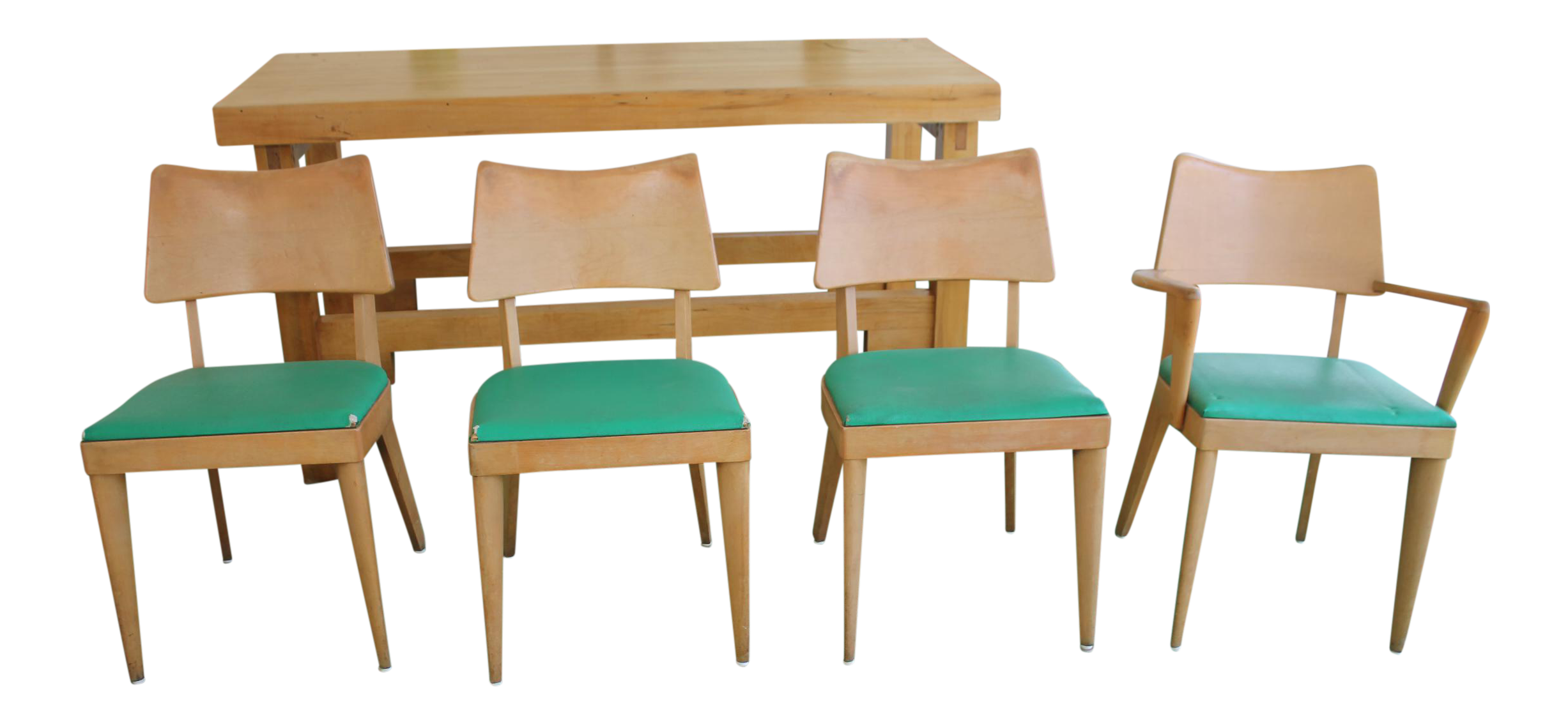 Heywood Wakefield Dining Chairs   Set Of 4