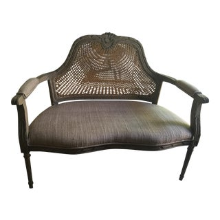 French Country Settee Bench