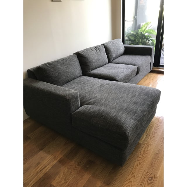 West Elm Urban 2-Piece Chaise Sectional - Image 3 of 3