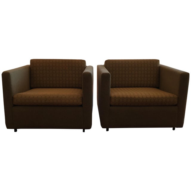 Image of Knoll Pfister Lounge Chairs - A Pair