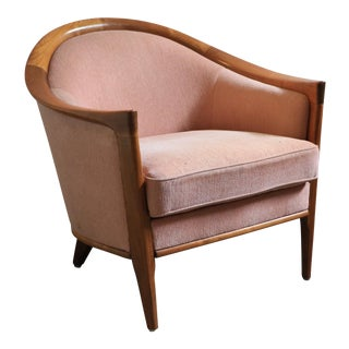 Pink Fridhagen Swedish Tub Armchair