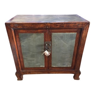 Asian Cabinet With Stone