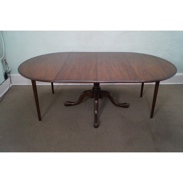 Kittinger Solid Mahogany Extension Dining Table - Image 7 of 10