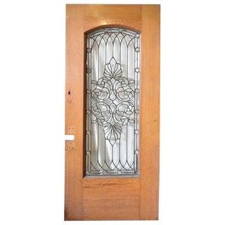 19th Century Leaded Glass Door or Window