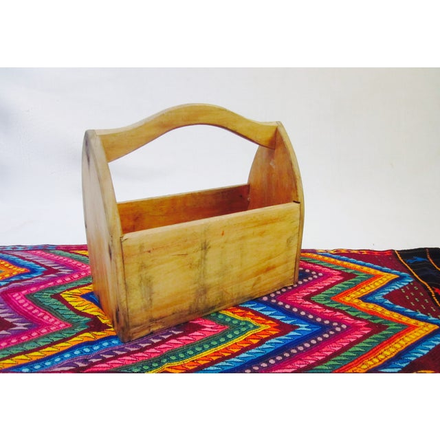 Wooden Tool Box Carrier Caddy - Image 4 of 5