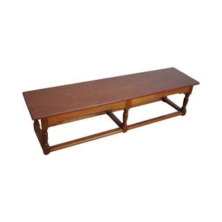 Stickley Prototype Miniature Cherry Library Table