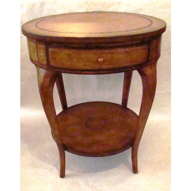 Maitland Smith Two Tier Side Table Chairish