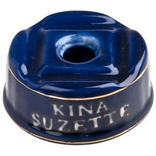 French Porcelain Kina Suzette Inkwell