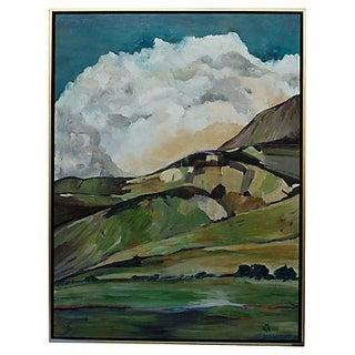 Laurie MacMillan Chances of Rain Painting
