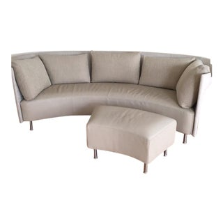 Montis Modern Sofa and Ottoman