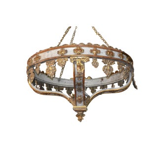 19th Century Italian Crown Fixture