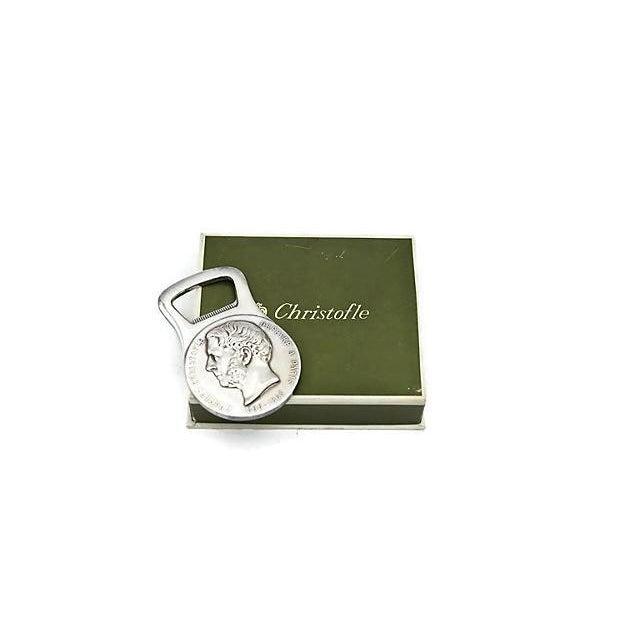 Christofle Silver-Plate Bottle Opener - Image 5 of 5