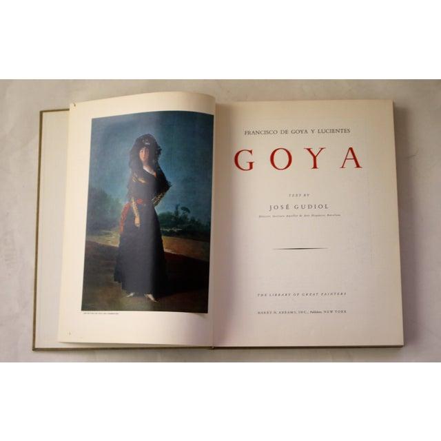 Image of 1964, Goya by Jose Gudiol Book