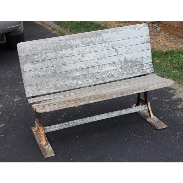 Vintage Park: Vintage Park-Style Cast Iron Bench