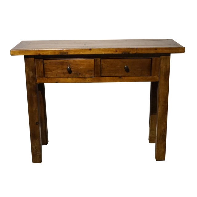 Solid Wood Hall Console Table - Image 1 of 6