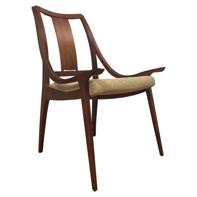 Glenn of California Mid Century Walnut Chair - Image 1 of 11