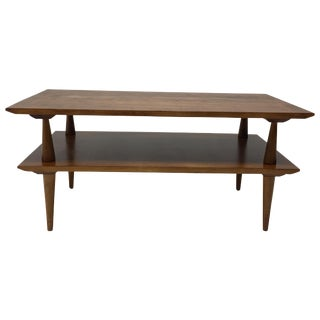 Vintage Two-Tier Maple Coffee Table