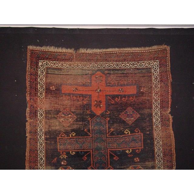 Armenian Antique Rugs: Antique Armenian Caucasian Kasak Rug - 4′7″ × 6′8″
