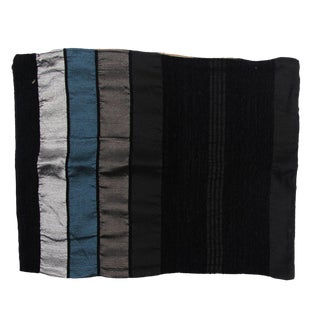 Black Safi Pillow Cases - A Pair