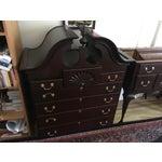Image of Harden Solid Cherry Highboy Dresser