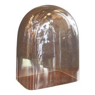 Antique Glass Skeleton Clock Dome