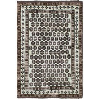 """Vintage Afghan Rug, 5'4"""" x 7'9"""""""