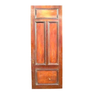 Tall & Narrow Mahogany Entrance Door