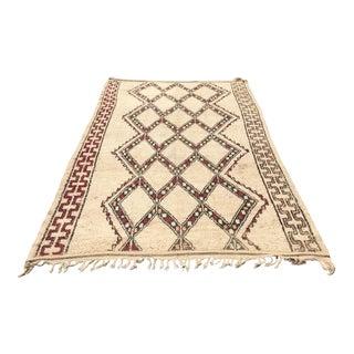 Handmade Moroccan Beni Ourain Rug