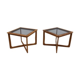 Mid-Century Sculpural Side Tables by Lane