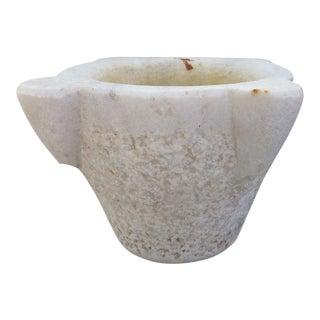 Indian Marble Mortar Pot