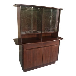 Danish Modern Rosewood Display Cabinet