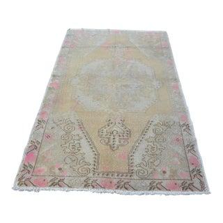 Antique Turkish Anatolian Floor Rug - 4′2″ × 7′2″