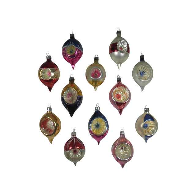 Polish Indent Ornaments - Set of 12 - Image 1 of 3