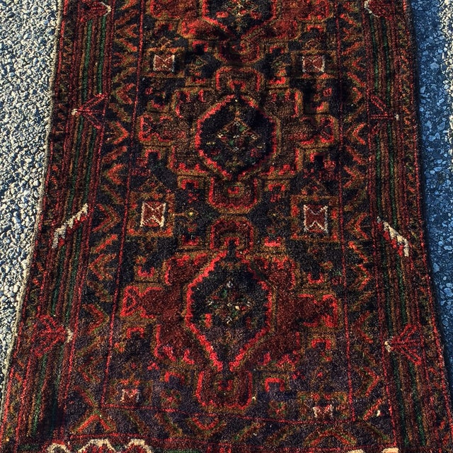 "Baluchi Persian Rug - 2'4"" X 4' - Image 3 of 8"
