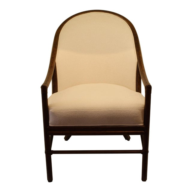 McGuire Orlando Diaz-Azcuy Aria Dining Arm Chair - Image 1 of 7
