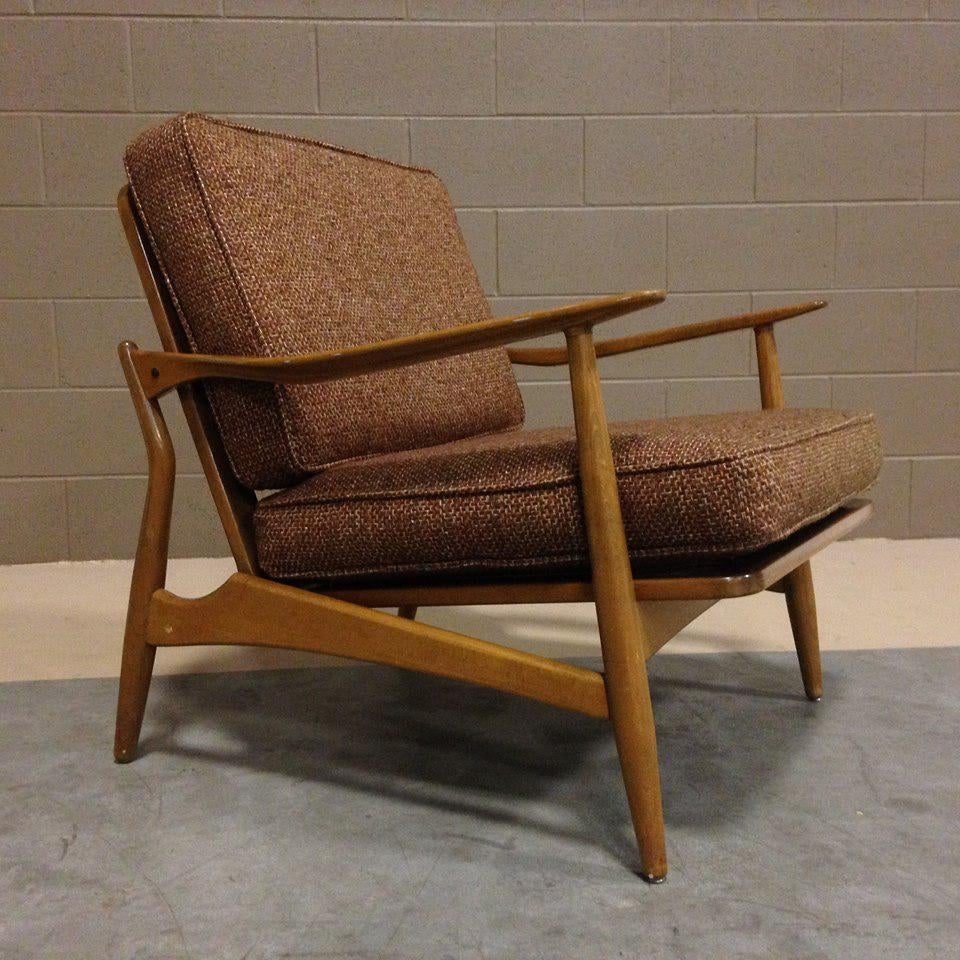 Sculptural Danish Modern Lounge Chair   Image 2 Of 7