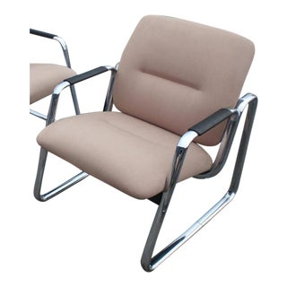 Modern Steelcase Lounge Chair
