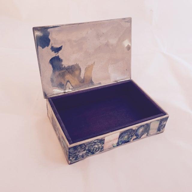 Large Abalone and Alpaca Box - Image 5 of 5