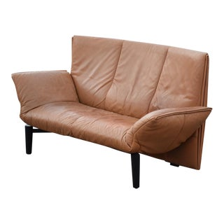 Mid-Century Modern De Sede Leather Modern Sofa